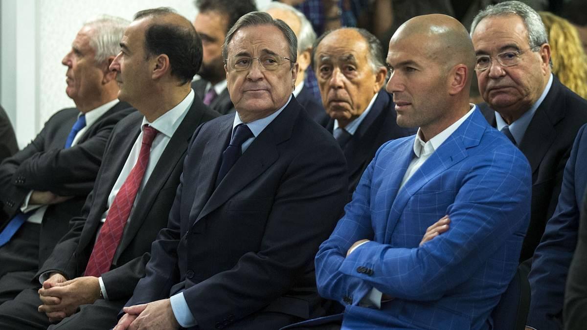 Florentino puede dar portazo a Zidane tras la Champions
