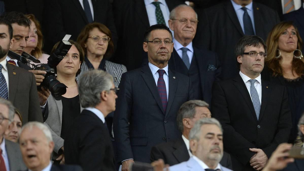 La pista del presidente del Bar�a sobre Mascherano y Alves