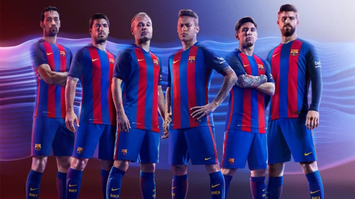 As� ser� la nueva equipaci�n del FC Barcelona 2016-17