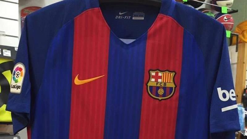 c93e6a9db70 La camiseta del Barcelona 2016-17