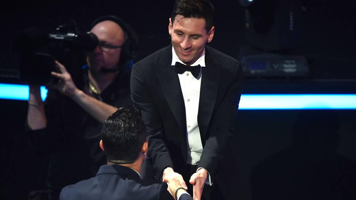 Matthaus tambi�n elige a Messi por delante de Cristiano