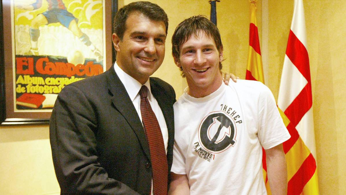 Laporta explota contra el encarnizamiento a Leo Messi