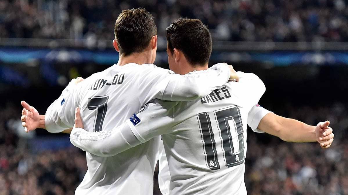 Cristiano Ronaldo se enfada con Florentino por James