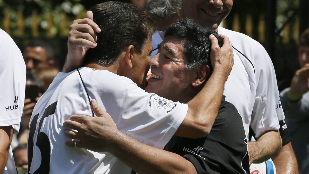 """Maradona, pillado criticando a Messi: """"No tiene personalidad"""""""