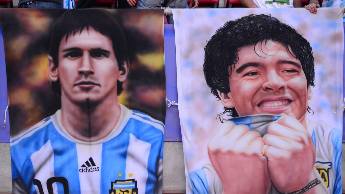 Nuevas declaraciones de Maradona sobre Lionel Messi