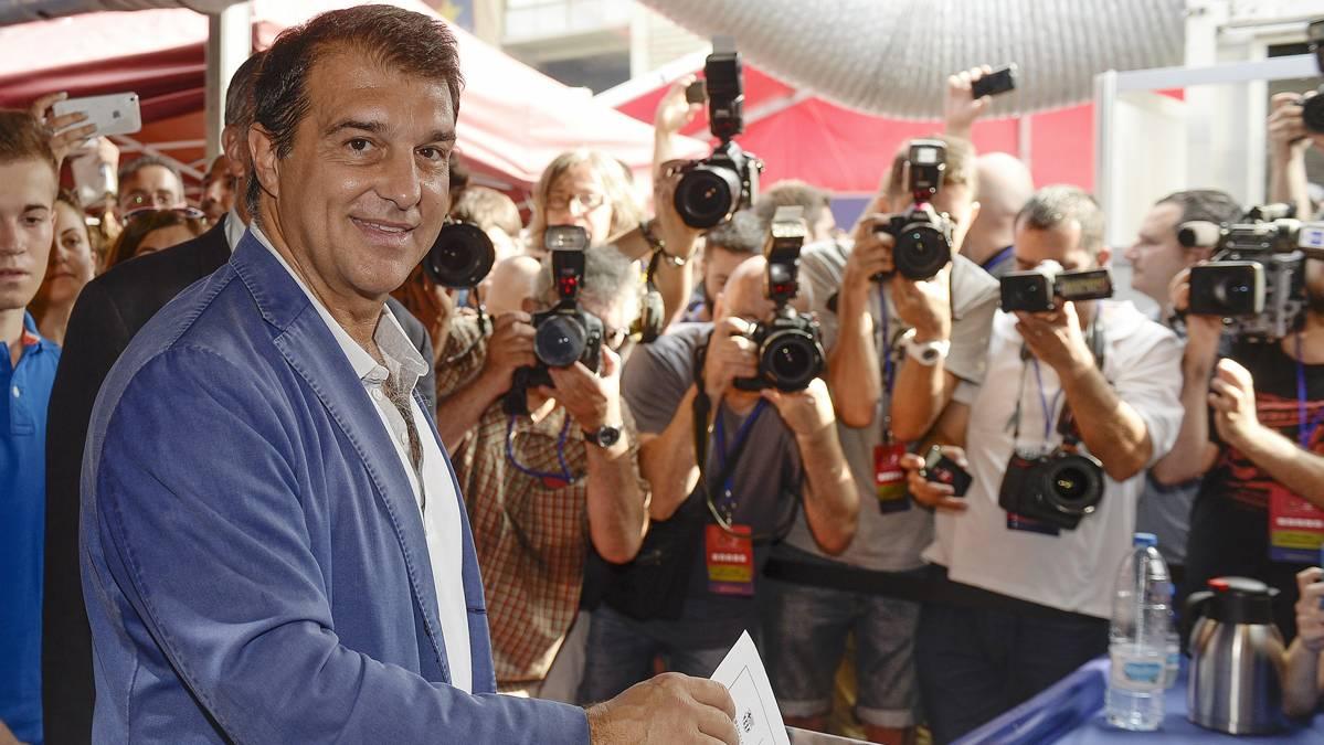La confesi�n de Laporta si Piqu� se convierte en presidente