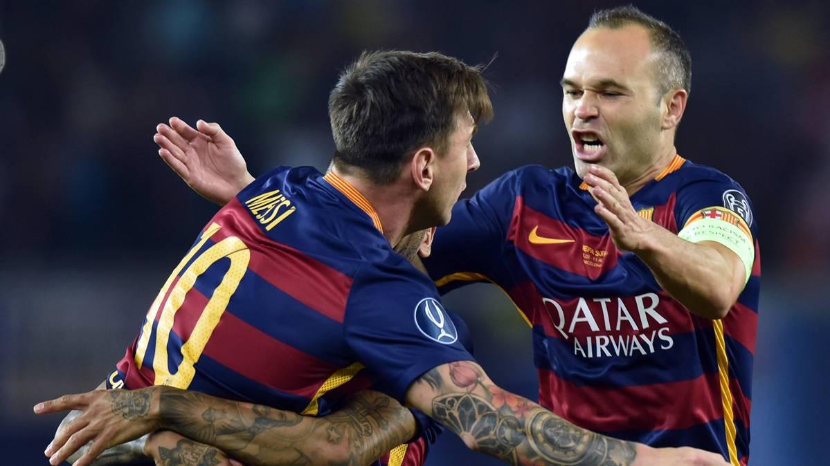"""La """"necesidad"""" que tiene Messi de Busi, Xavi o Iniesta, seg�n Cruyff"""