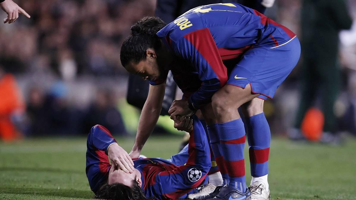 �Ten�a m�s talento Ronaldinho Ga�cho que Leo Messi?