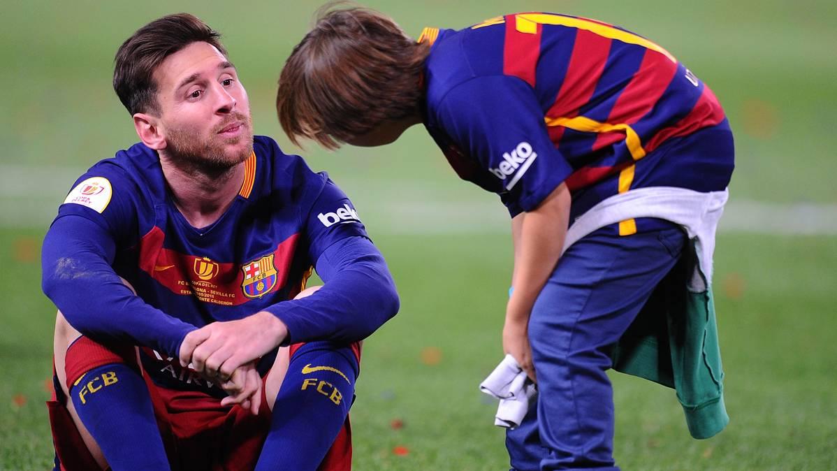 Messi, ganador de un nuevo premio con el FC Barcelona