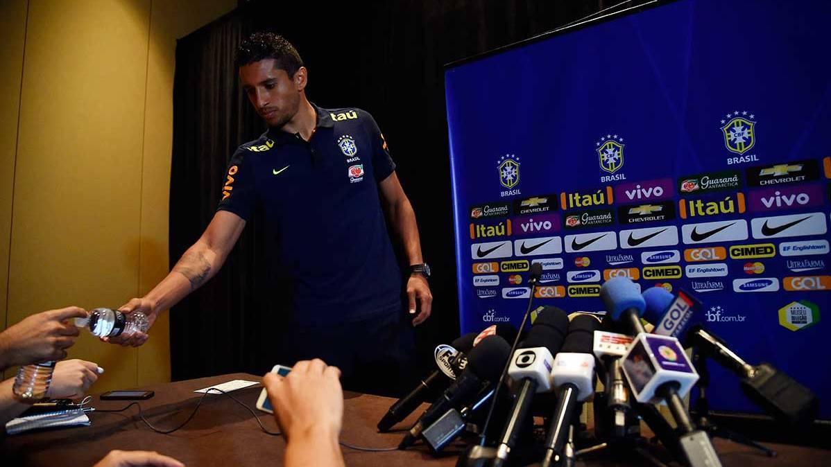 """<span class=""""blue"""">CONTUNDENTE:</span> Marquinhos ya le ha pedido al PSG salir al Bar�a"""