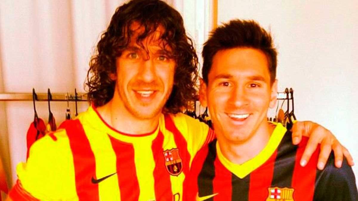 "Carles Puyol: ""No me da miedo que Messi se pueda ir"""