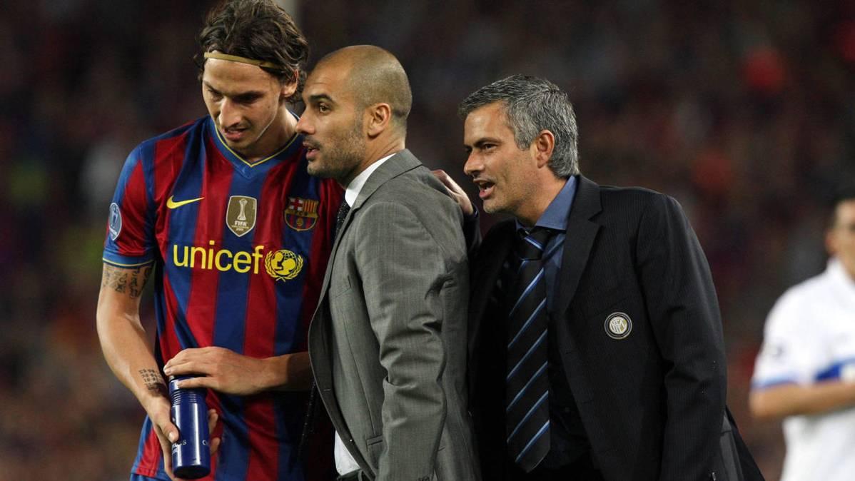 Ibrahimovic y Mourinho ya confabulan... Tiembla Pep