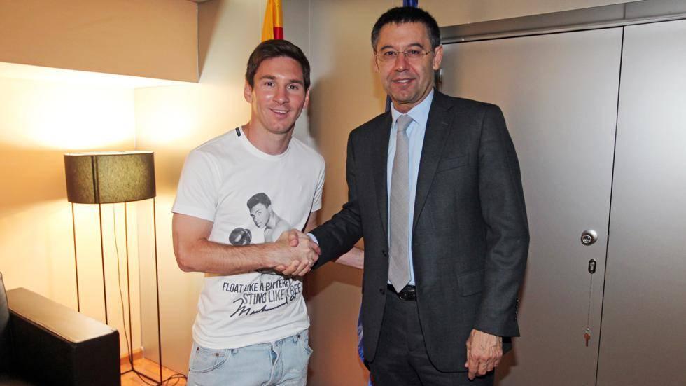 ¿Cuánto mide Josep Maria Bartomeu? - Altura Messi-185267