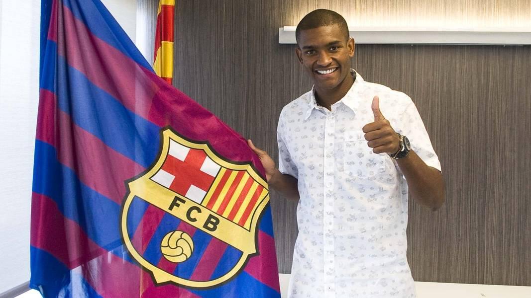 """<span class=""""green"""">�POR FIN!</span> El FC Barcelona ya puede contar con Marlon Santos"""