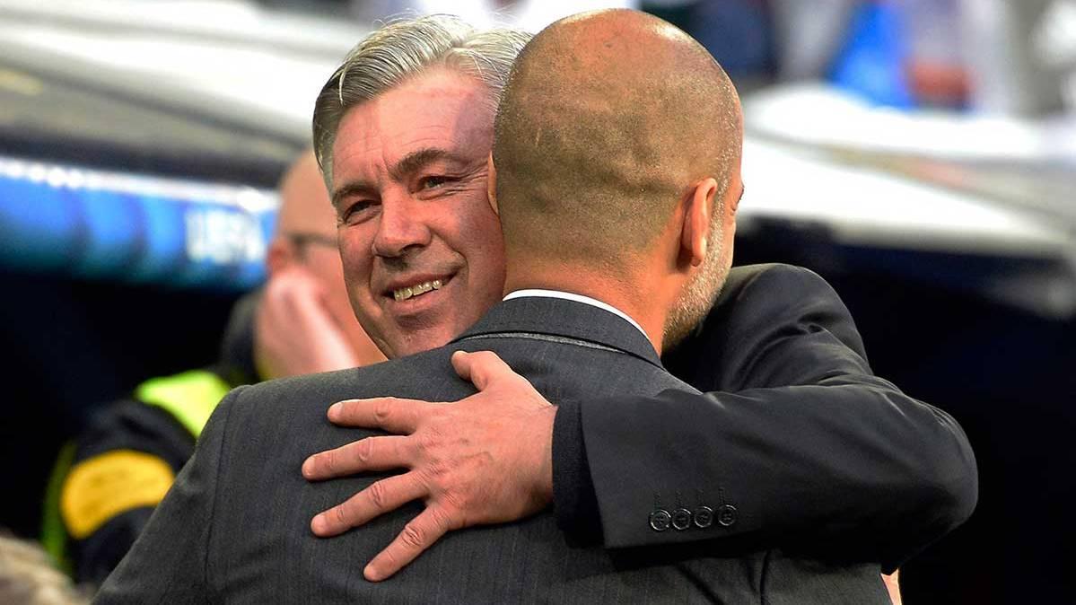 El precioso detalle que tuvo Guardiola con Ancelotti