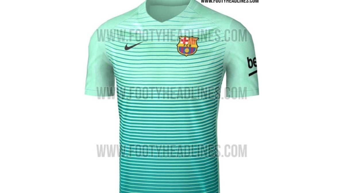 Desvelan cómo será la tercera equipación del FC Barcelona - FC ... 0cfef72335f