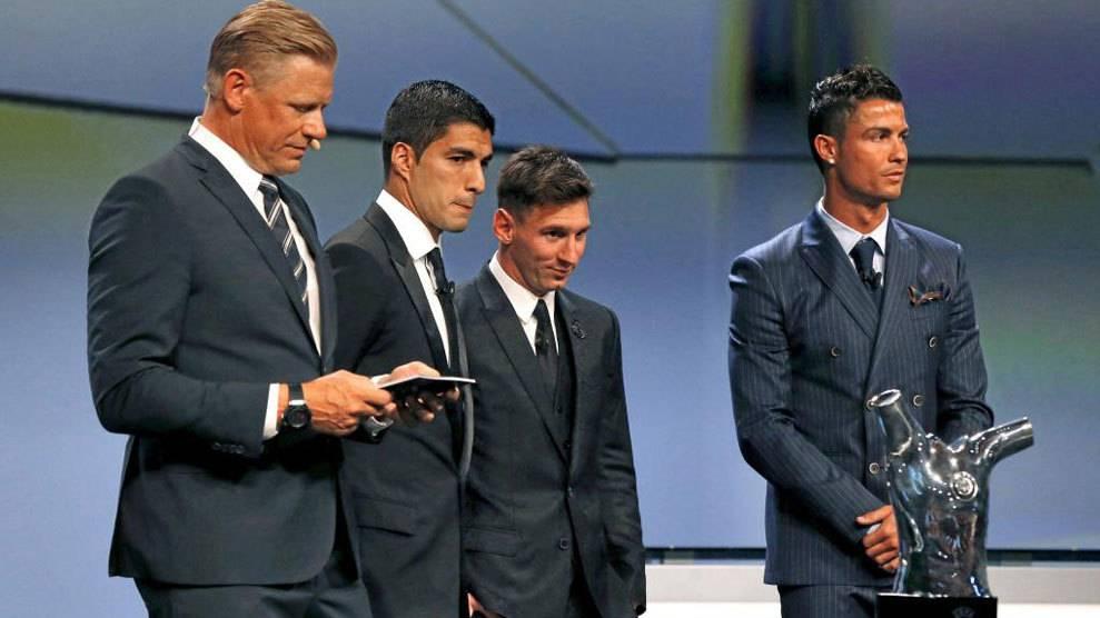 S�lo dos del Bar�a en el Premio al Mejor Jugador en Europa