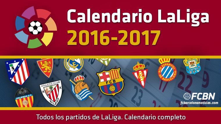 Calendario LaLiga 2016-17