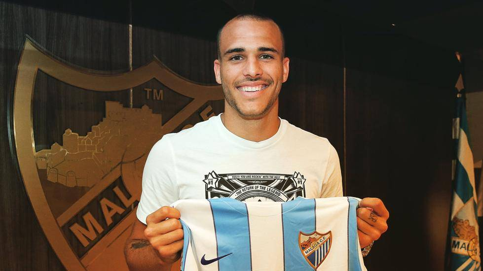 Sandro Ram�rez ya marca goles con el M�laga CF