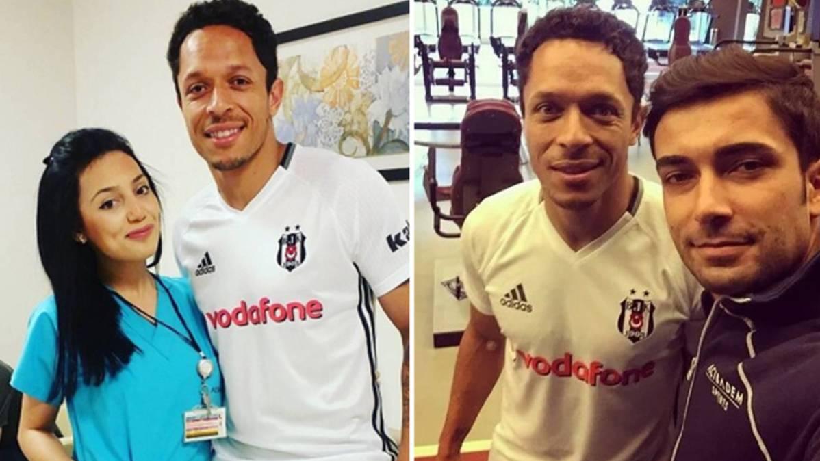 Adriano Correia ya viste la camiseta del Besiktas