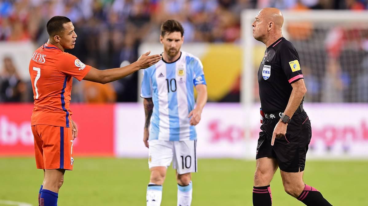 El �rbitro que se conmovi� con la desolaci�n de Messi