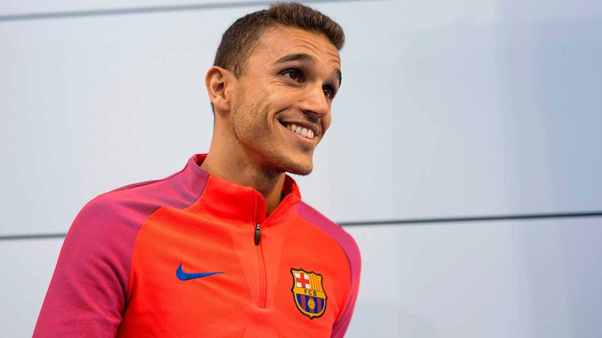 Masip sigue so�ando con triunfar en el FC Barcelona