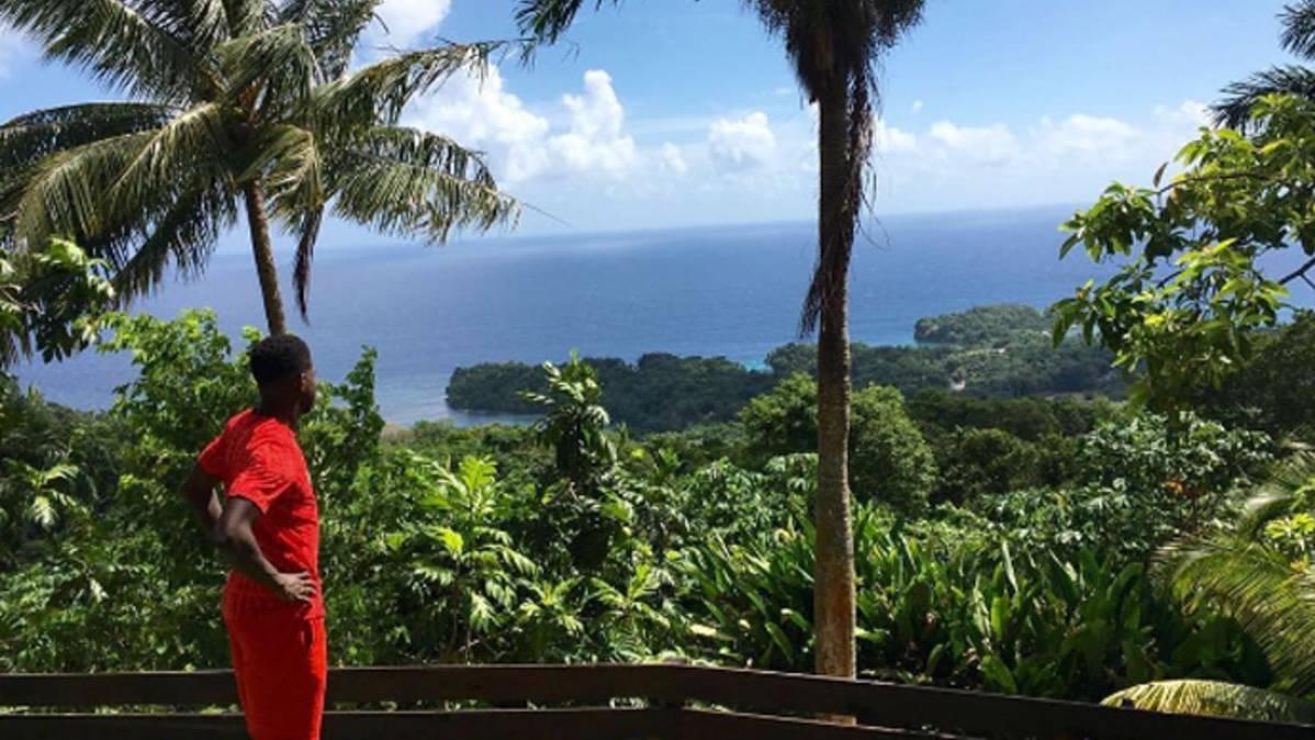 Las paradisiacas vacaciones de Samuel Umtiti