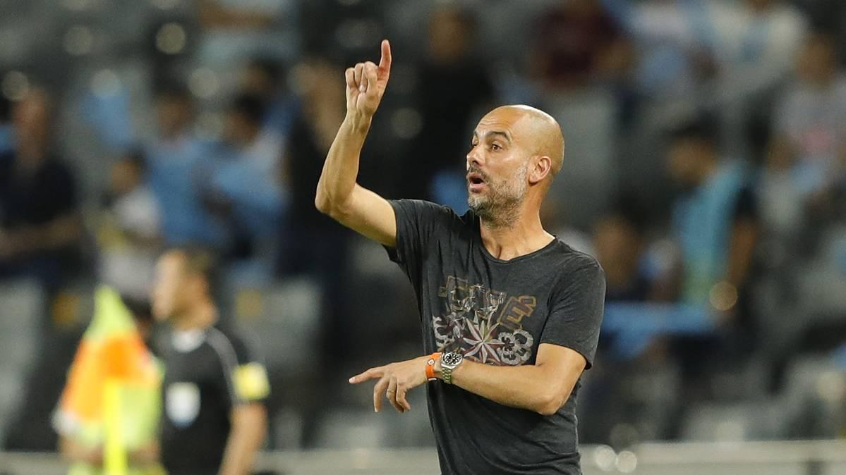 Guardiola reconoce dos objetivos del City en el mercado