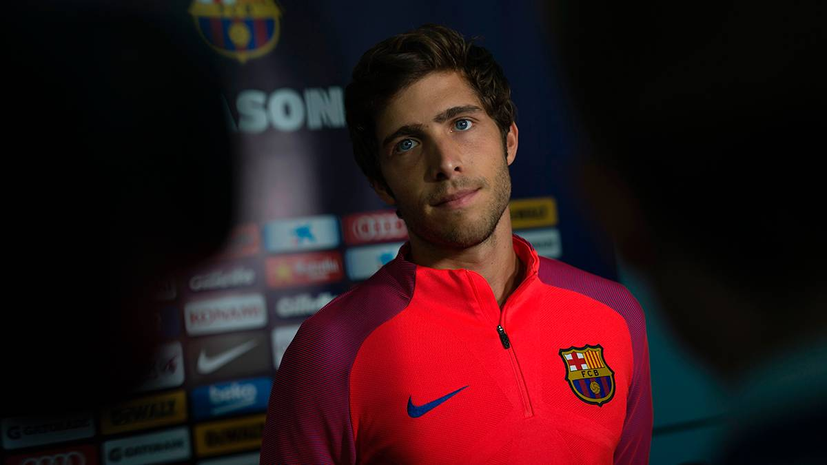 Sergi Roberto confirmó el estado de sus molestias en el talón