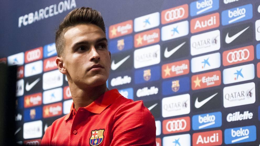 "Denis Su�rez: ""Me intento fijar en Iniesta y Rakitic"""