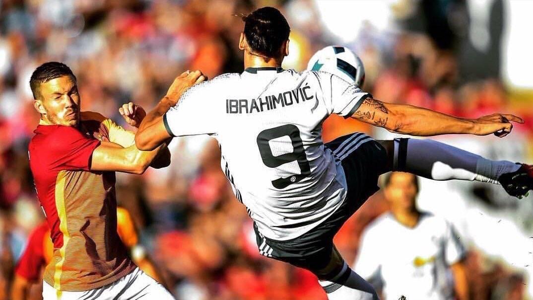 """Zlatan Ibrahimovic no vino a Manchester """"a perder el tiempo"""""""