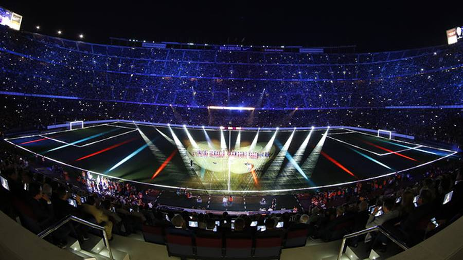 El Camp Nou responder� ante el Sevilla y volver� a rugir
