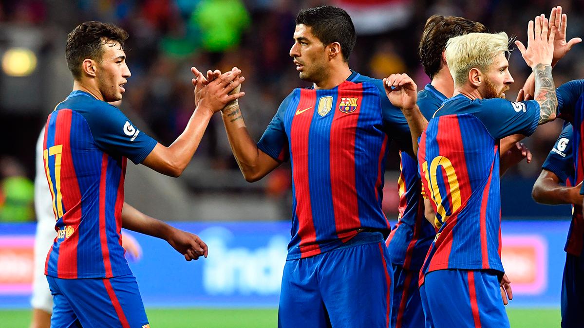 El FC Barcelona anuncia los dorsales de esta 2016-2017