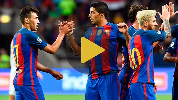 V�deo resumen: FC Barcelona 4 Leicester City 2 (Pretemporada)