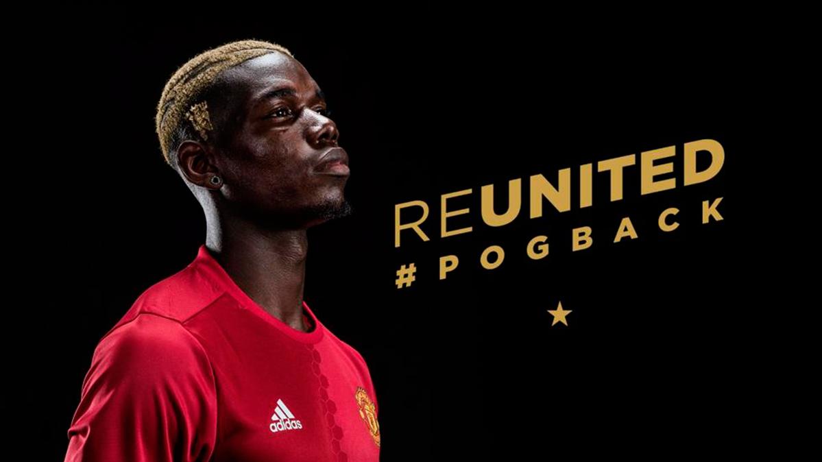 "<span class=""blue"">OFICIAL:</span> El Manchester United presenta a Paul Pogba"