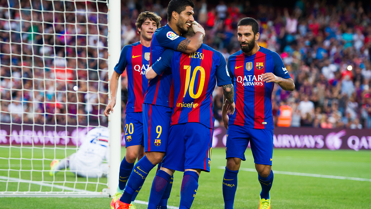 La conexión Iniesta-Messi-Suárez vuelve: ¡Qué golazo!
