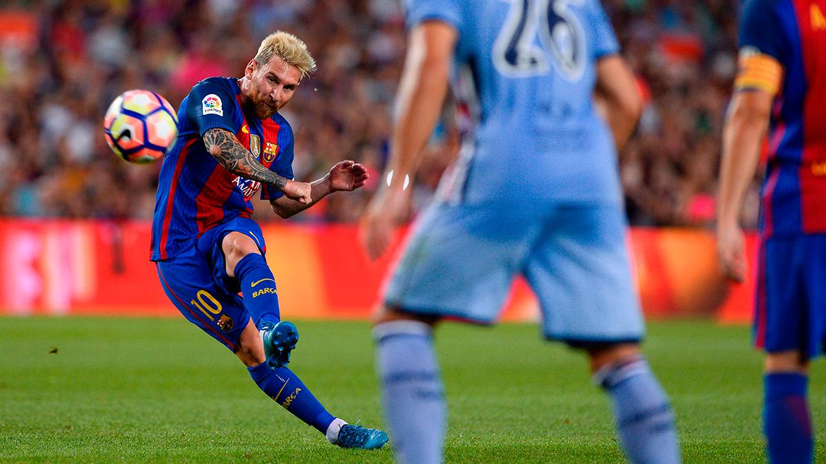 Leo Messi hace historia con el Barça en el Gamper