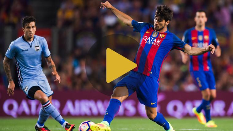 """André Gomes, decidido a seguir """"progresando"""" en el Barça"""