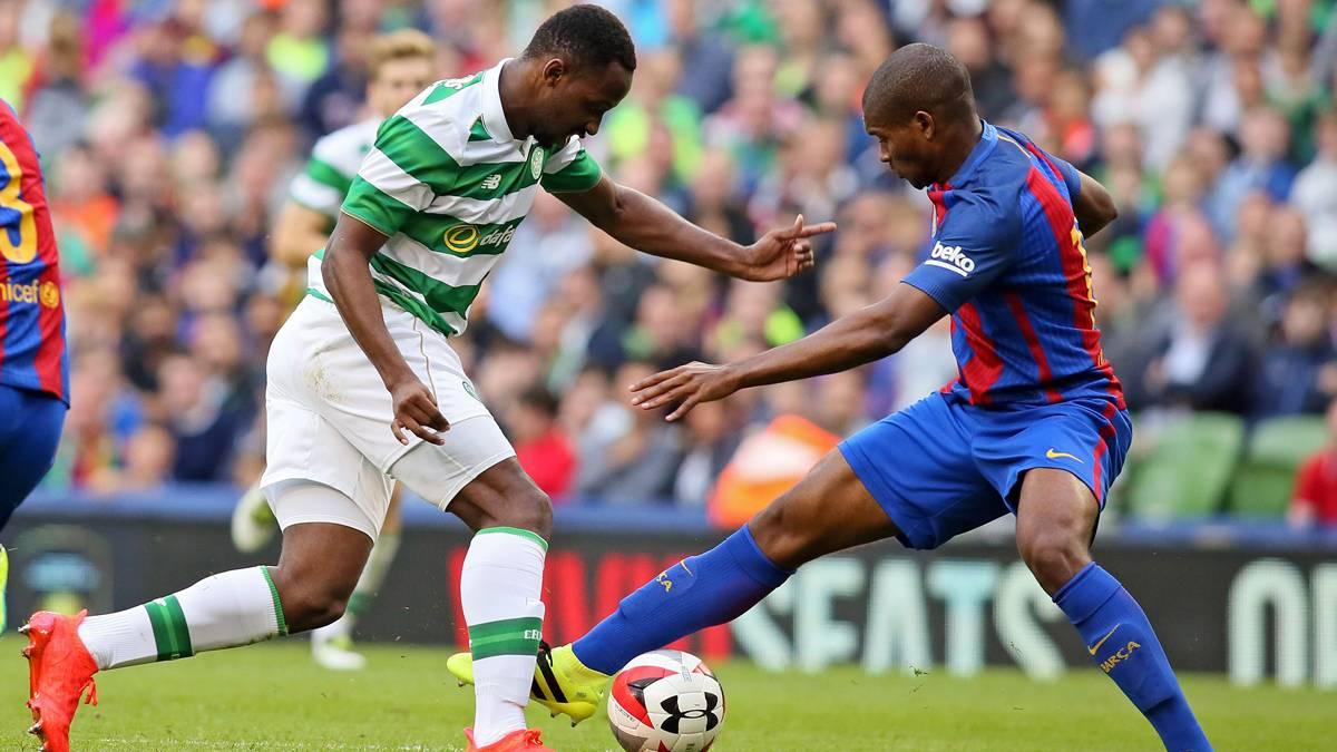 Marlon ya está en Barcelona por si Luis Enrique le necesita