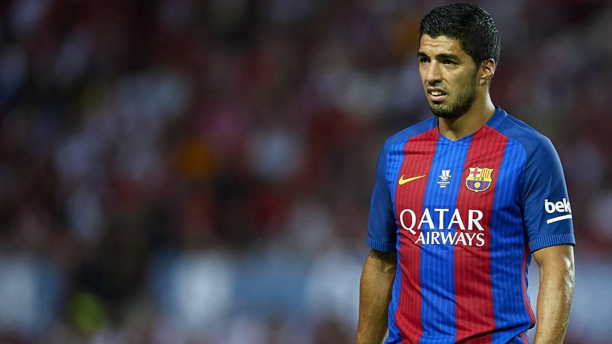 """Luis Suárez está """"missing"""": un gol en los últimos cinco partidos"""