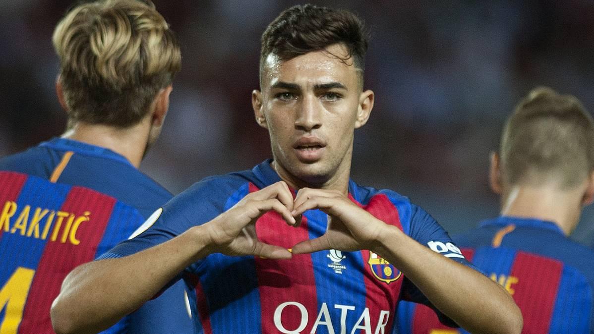 OFICIAL: Munir, cedido al Valencia con opción de compra