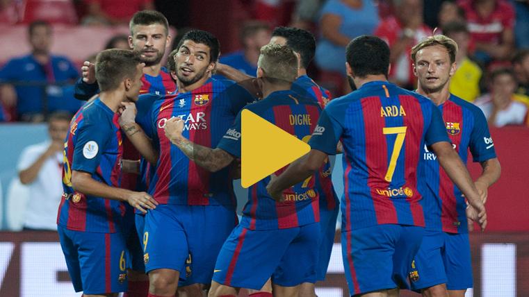 V�deo resumen: Sevilla 0 FC Barcelona 2 (Supercopa)