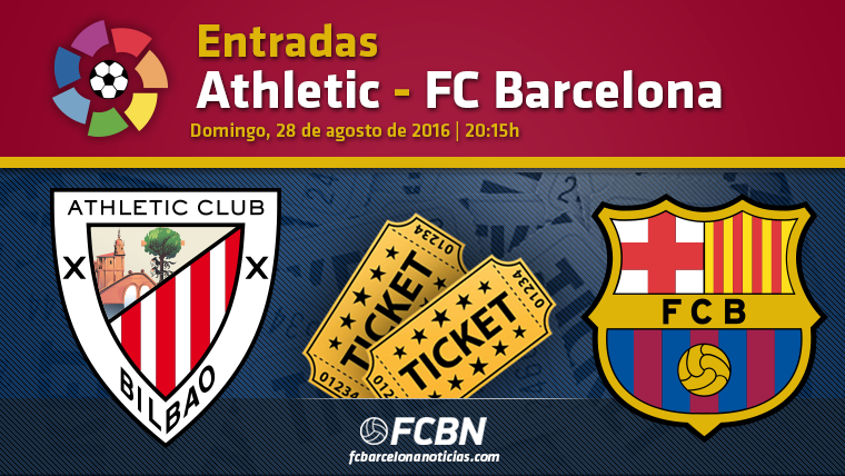 Entradas Athletic Bilbao vs FC Barcelona