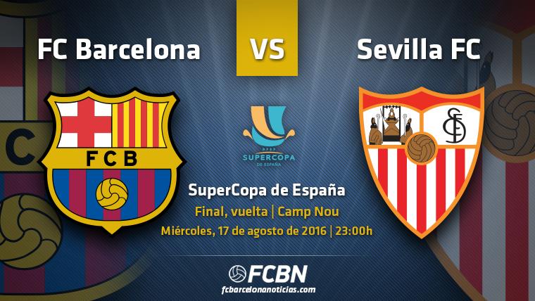 La previa del partido: FC Barcelona vs Sevilla (Supercopa)