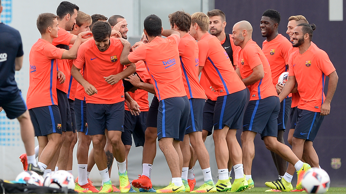 Los cracks del Barça estuvieron de fiesta el lunes menos uno