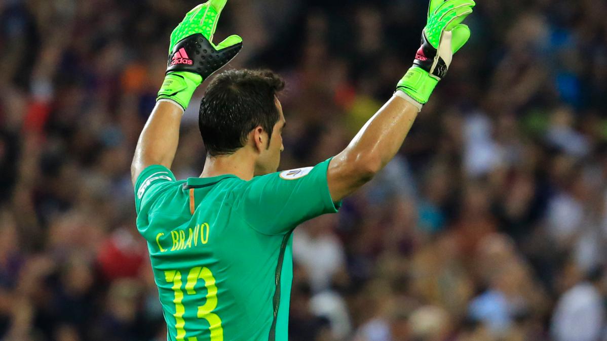 Bravo se despide del Camp Nou para volver muy pronto