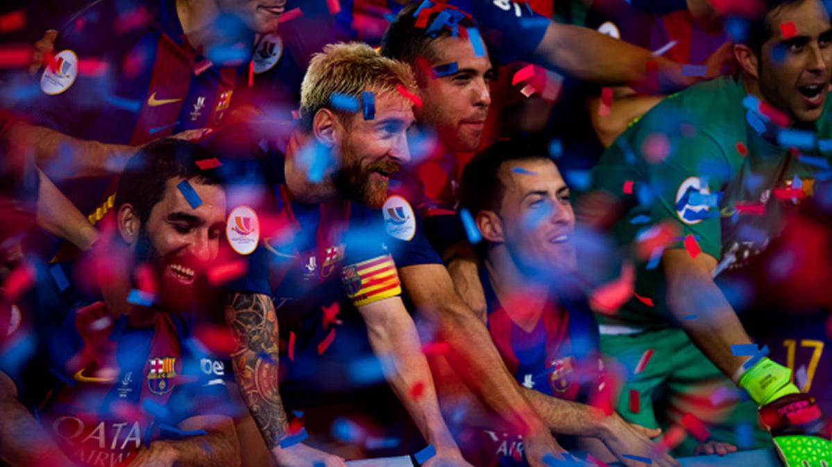 El FC Barcelona de Luis Enrique no se cansa de ganar