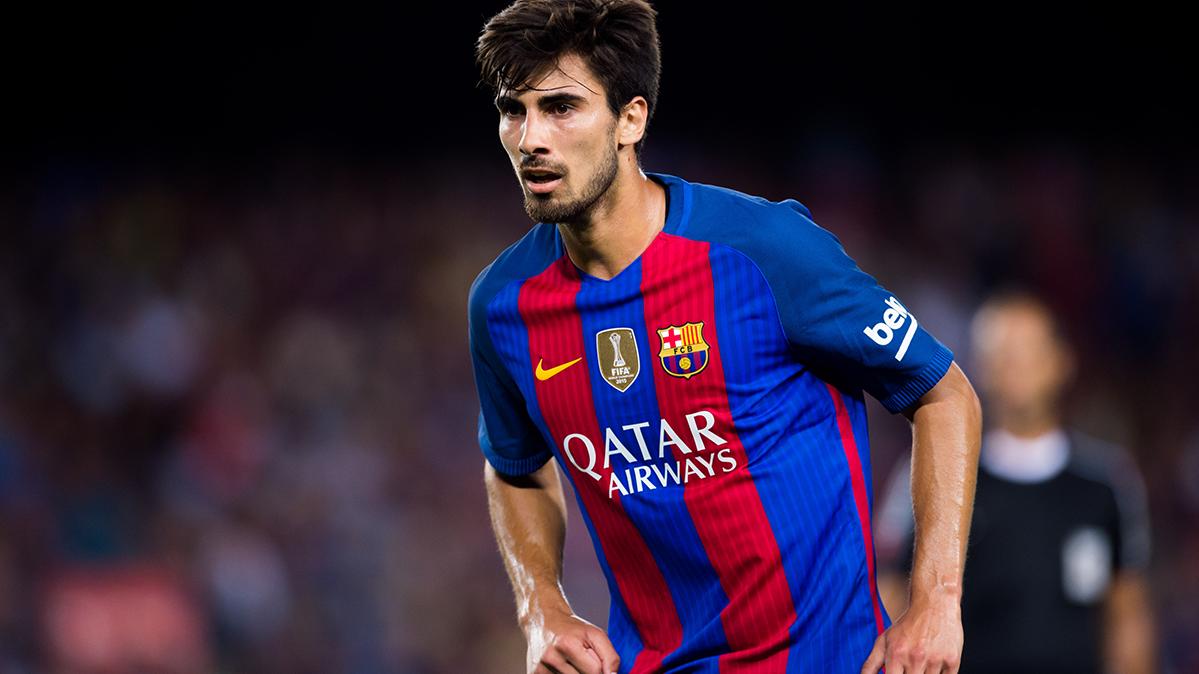 André Gomes parecía que llevara toda la vida en Can Barça