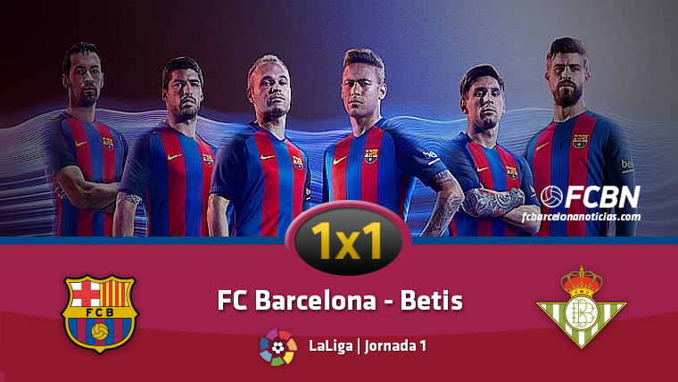 SOBRESALIENTE: El 1x1 del FC Barcelona contra el Betis