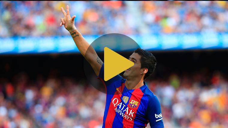 """Luis Su�rez elogia a Messi: """"S�lo queda rendirse a sus pies"""""""